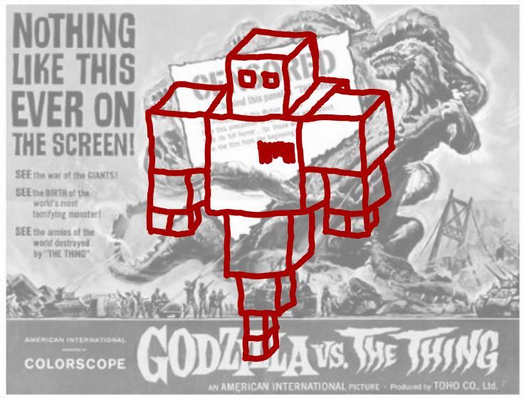 Robot 112358 vz Godzilla